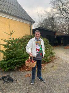 Advent 2020 Flemming pynter juletræ